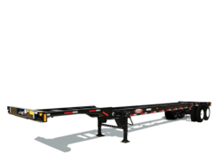 Steel Chassis 40 Foot Trailer