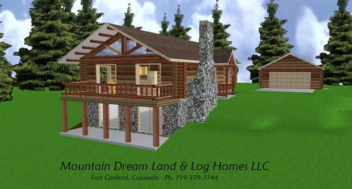 Log Cabin Designs on