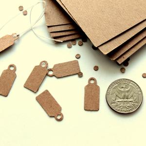 paper tag for jewelry