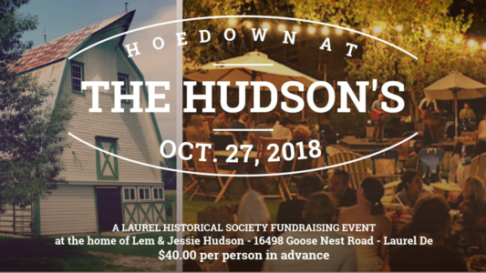 Hoedown at the Hudsons Information