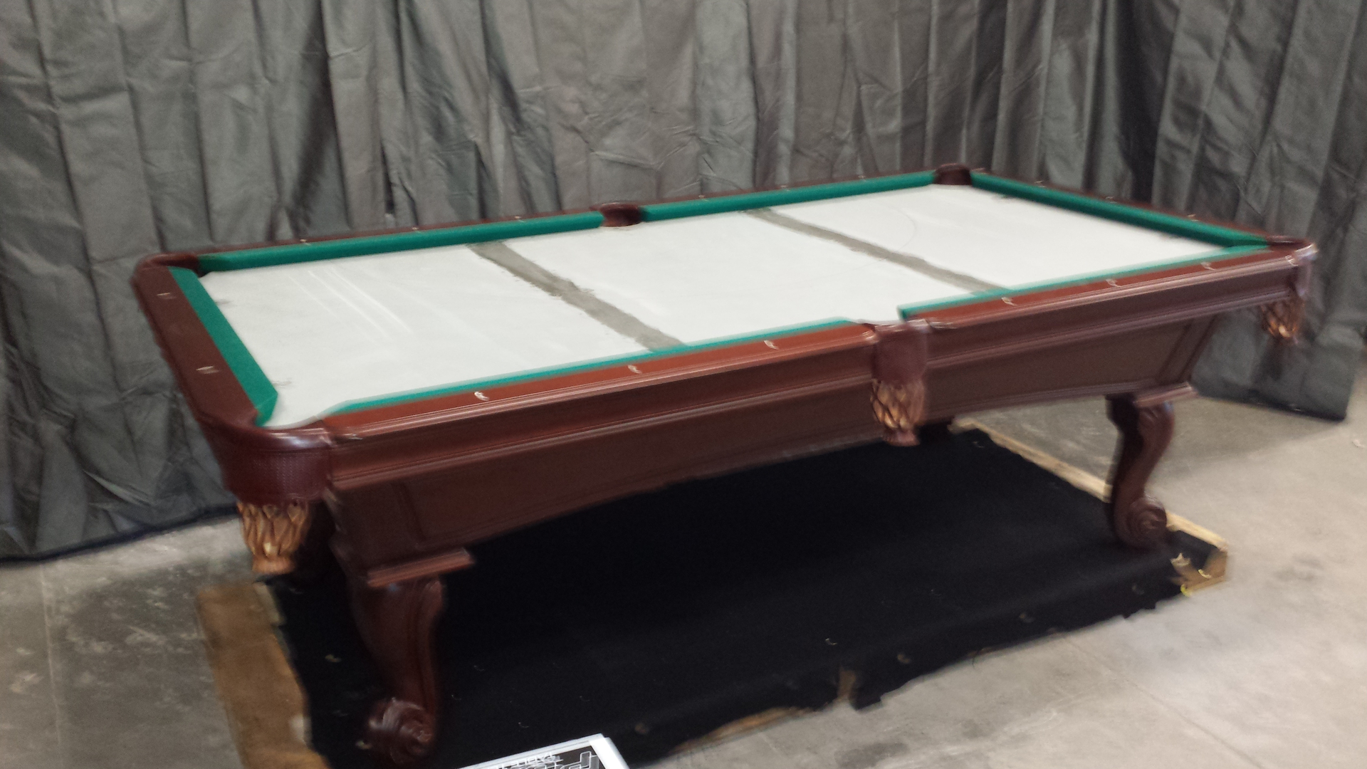 table raleigh billiards pool heritage tables drawer in pin option and with atlantic olhausen hampton spas cherry from