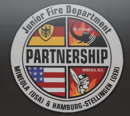 Mineola Junior Fire Department Partnership with Germany Junior Fire