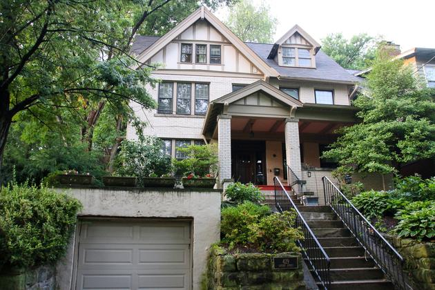Edgewood PA Regent Square real estate cummings brothers remax select realty 15218 woodland hills tudor home