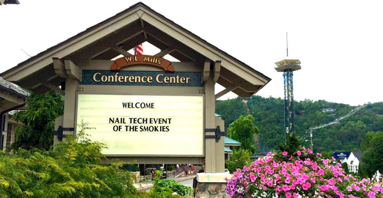 Nail tech event of the smokies nail show nail tech for Gatlinburg civic center craft show