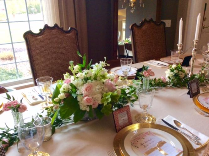 Rochester NY Wedding Centerpiece Florals