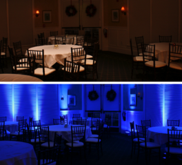 DJ KARZ Uplighting Option Packages based in Charlotte NC