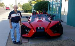 Owner Jerry with Slingshot in Phoenix