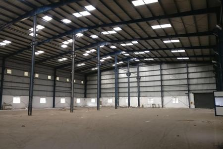 Jigani 36700 SFT Industrial Production shop floor for rent