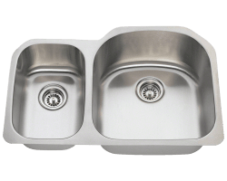 Solaris R1213 Double Bowl Stainless Steel Sink