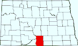 Click for map of Emmons County