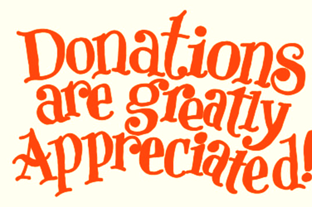 Donations  >> Support Donate