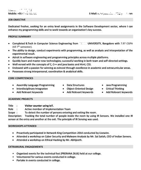 5 10 years experience star format resume sample