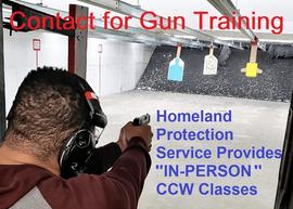 Schedule us for your concealed carry permit training