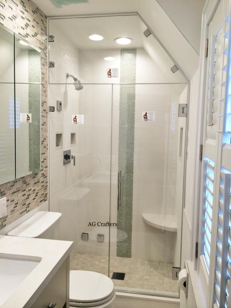 Glass Showers Frameless Glass Showers Glass Enclosures