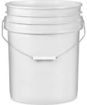 5 Gallon Bucket from Uline $25.25