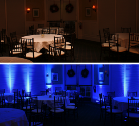 Wedding and Event DJ Offering Uplighting Packages Charlotte NC