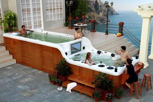 swim hot tub repair and service