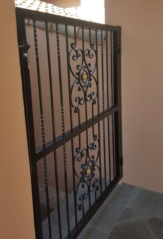 Wrought iron gate Perth