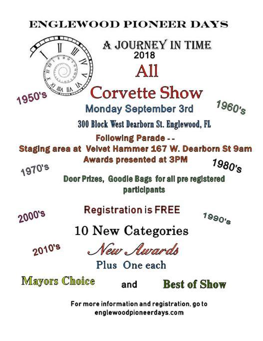 Corvette Car Show - Englewood car show