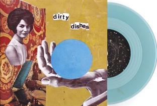 "dirty dishes band jenny tuite 7"" punk fox records cover"