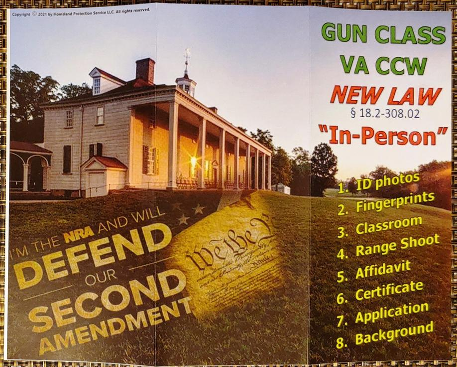 Call HPS today to schedule your gun class