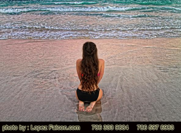 Quinces Miami Beach Quinceanera Beach Photo Shoot
