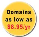 Domains on sale