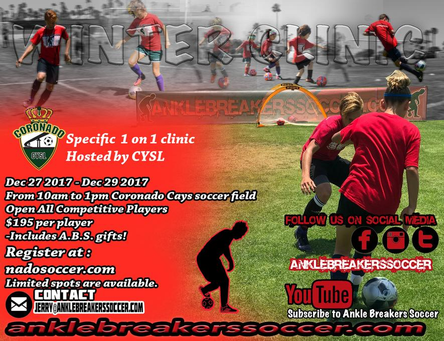 Ankle Breakers Winter Soccer Clinic