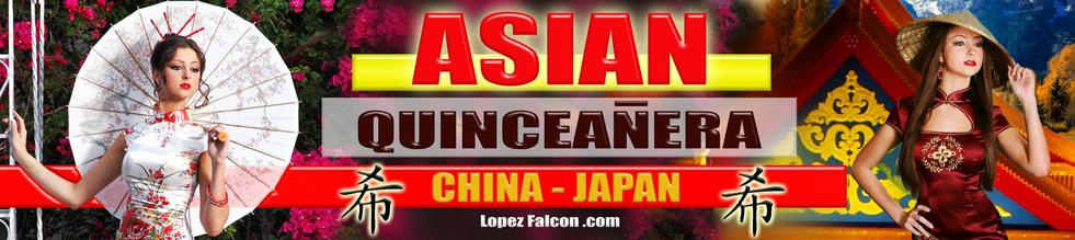 China Japan Asia Quinces Party Asian Quince Parties Miami Theme Ideas Quinceañera Celebration Party Themes Tips for Dresses Choreography Cakes Quinces Stage & Decoration