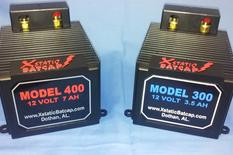 Two different car audio battery lithium