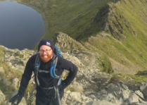 Helvellyn guide Striding Edge
