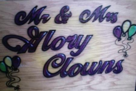 Mr. & Mrs. Glory Clowns