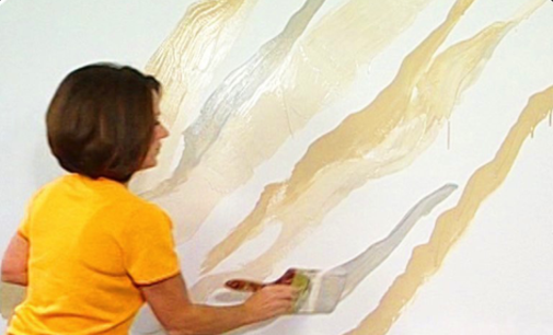 Marble Marbleizing Paint Technique How To Steps For Faux