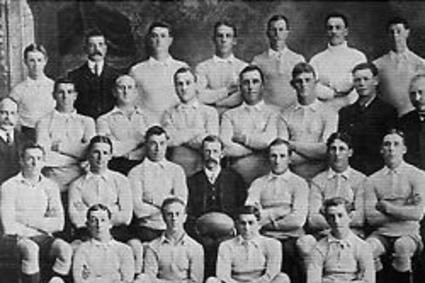 NSW Team who played The All Golds