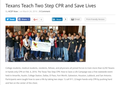 Texas Two Step CPR