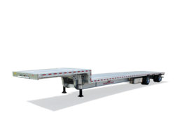 Aluminum Drop Flat Trailer