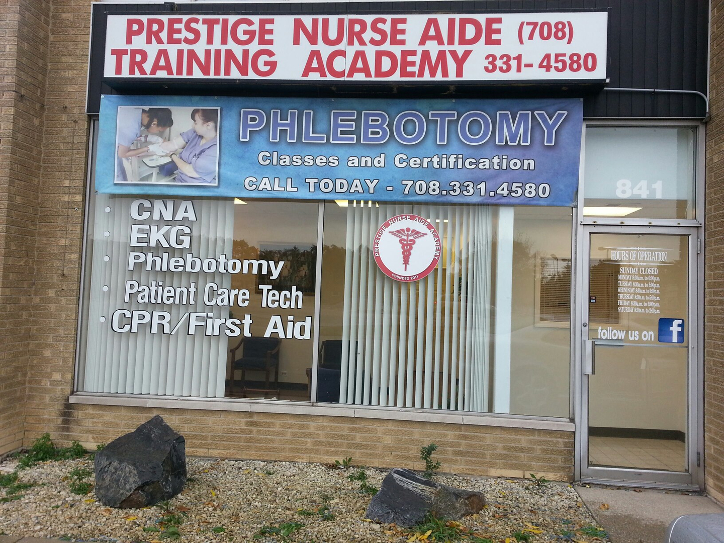 Prestige Nurse Aide Training Academy Cna Classes Phlebotomy