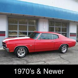 1970's & New Vehicles