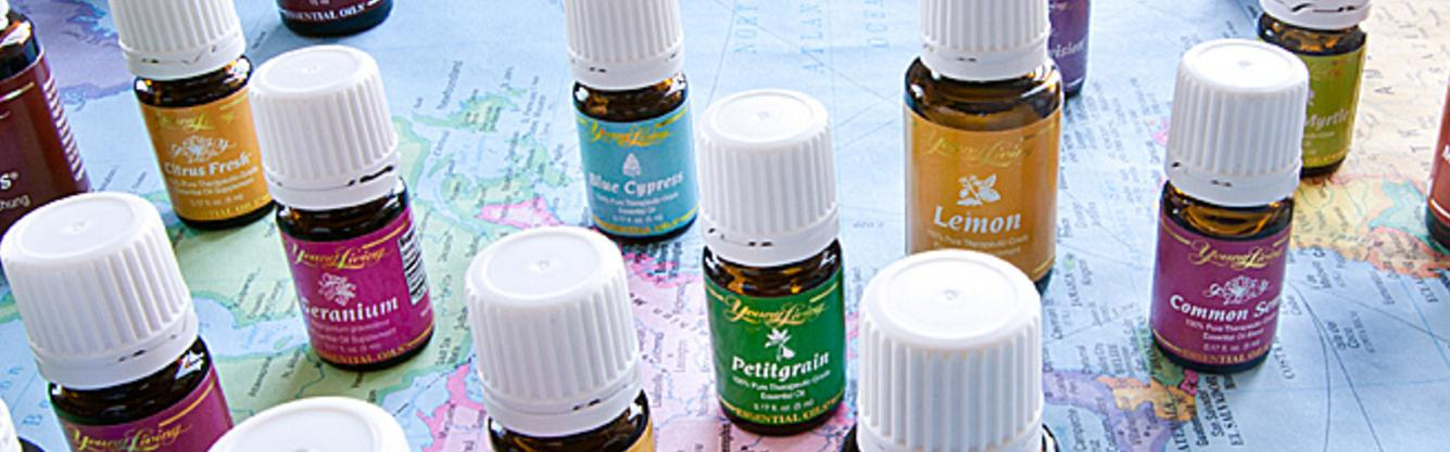 Young Living Essential Oils cover the globe