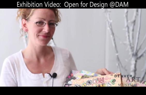 Watch interviews of Leah Hendricks and other artists that participated in the Denver Art Museum's Open for Design Challenge in 2012.