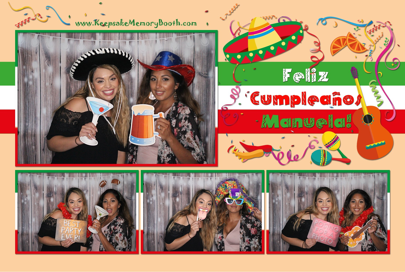 Photo Booth Rental San Diego - Keepsake Memory Booth
