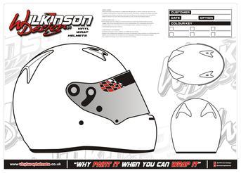 Wilkinson Design Newtownards | Helmet Graphics | Design Templates
