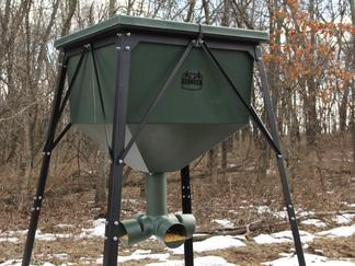 ft with blinds deluxe hugger red stand crossover trophy the leasing redneck neck from tower blind shop tree indiana