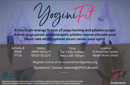 YoginiFit - Let's Get it Om!