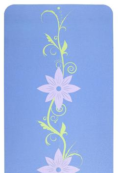Gentle Pond Floral Two-Color Yoga Mat