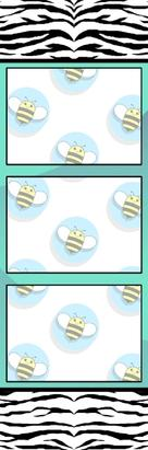 Bumblebee Booths Photo Strip sample #33
