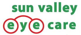 sun valley eye care logo green letters