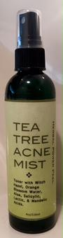 Herbal Power Peel Tea Tree Acne Mist toner