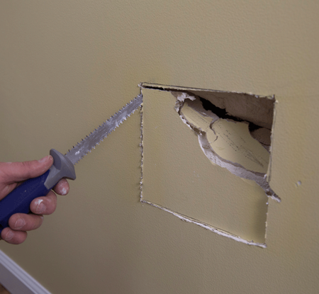 FAST, AFFORDABLE DRYWALL REPAIR McCarran Handyman Service Drywall Repair 702-637-2457