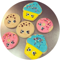 Hand Decorated Sugar Cookies :: Honey Bee Bakery Medina